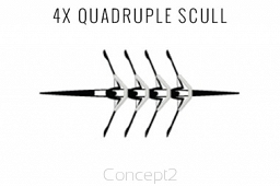 4X Quadruple Scull
